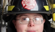 33 Year-old Volunteer Firefighter with DownSyndrome